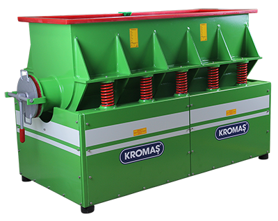 Kromas_VM-375-Y-B - maszyna do trowalizacji